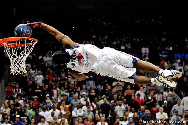 Баскетбол: слэм-данк